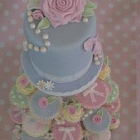 Cath Kidston inspired Cake & Cupcakes