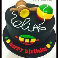 Rastafari Kendama cake!