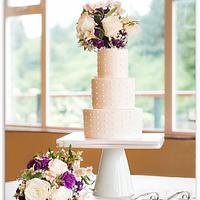 Wedding cake by Bakermama