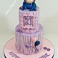 Eeyore 21st Birthday Cake