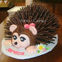 Hedgehog Cake by Vania