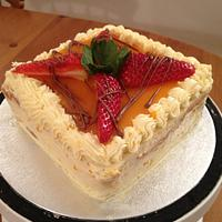 My Mango mousse Cake! by Cakesatibapa
