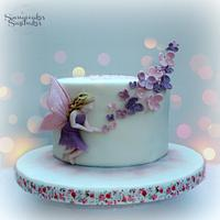 Fairy of the Butterflies Cake
