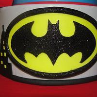Super Hero Cake by Jessica Allard Costales