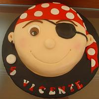 a pirate's cake