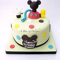 Mickey Mouse Clubhouse Birthday Cake by Melanie