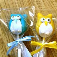 Cute Owl Cake Pops