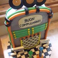 jukebox cake :) by Monika Farkas