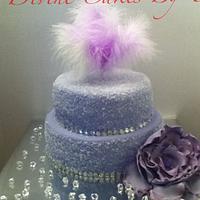 DIAMOND STUDDED CAKE