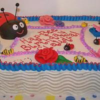 Bug themed birthday