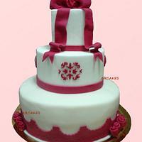 18 birthday cake by cristina