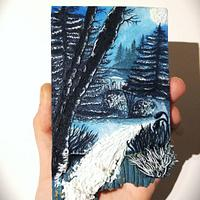Icy Woods [Cookie Art]