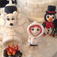 Snow People and Lodge