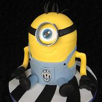 Juventus supporting minion ! (Dave)