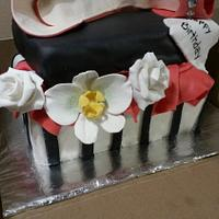 Birthday Shoe Cake