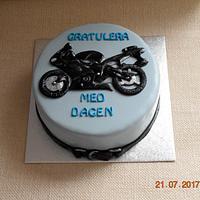 Cake for a biker
