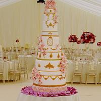 12 tier Wedding cake