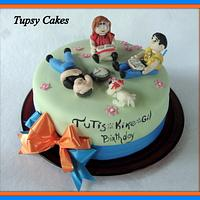 engeniering  students cake by tupsy cakes