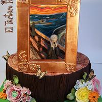 """""""El Grito"""" Edvard Munch. Colaboración Primavera con Arte"""