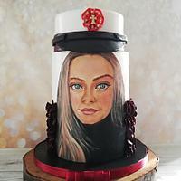 Student hue cake