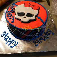 Monster High Cake by AneliaDawnCakes