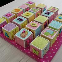 Baby blocks by Tamara