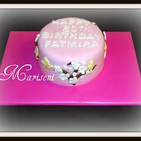 Blossom Birthday Cake