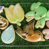 Spring Watercolors Cookie Set