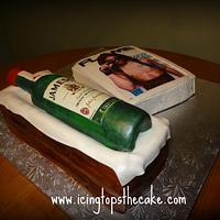 Jameson Bottle and Magazine by Icingtopsthecake