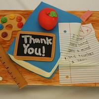 Teacher Appreciation by Centerpiece Cakes By Steph