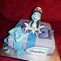 Crazy Frog Cake