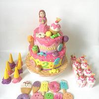 icecream themecake
