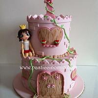 Castle Cake  by Pasticcino Mio