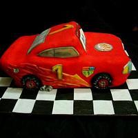 Torta Cars, torneada a mano by patriciareposteria