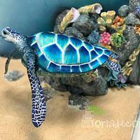 Flying turtle cake by Agnes Havan-tortadecor.hu