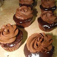 Death by chocolate cupcakes by Aisha