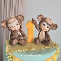 Cake for twins