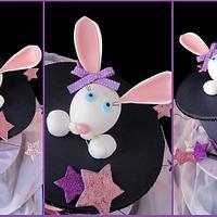 Magical bunny cake