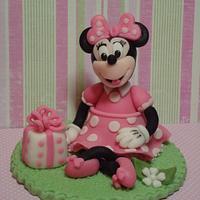 """Tiny 4"""" Minnie Topper"""