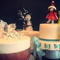 My xmas cakes 2012