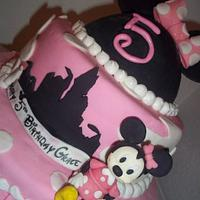 Minnie Mouse Dream Cake for Grace