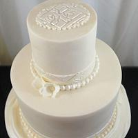 Simple White Cake by Sugarpixy