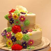 Brilliant Grandmas Birthday Cake Cake By Megan Cakesdecor Funny Birthday Cards Online Chimdamsfinfo