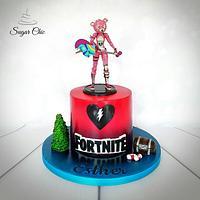 x Fortnite Cuddle Team Leader Cake x