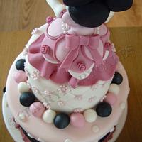 Minnie mouse by Clair Stokes