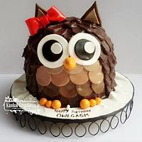 Little miss owl