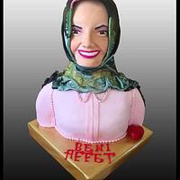 3D Bust cake