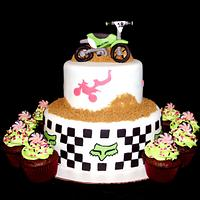 18th Birthday Dirtbike Cake