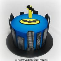 Batman 1st Birthday Cake