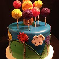 The Lorax Cake